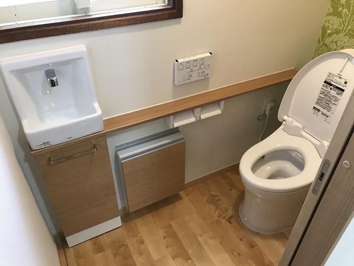 トイレ内装After