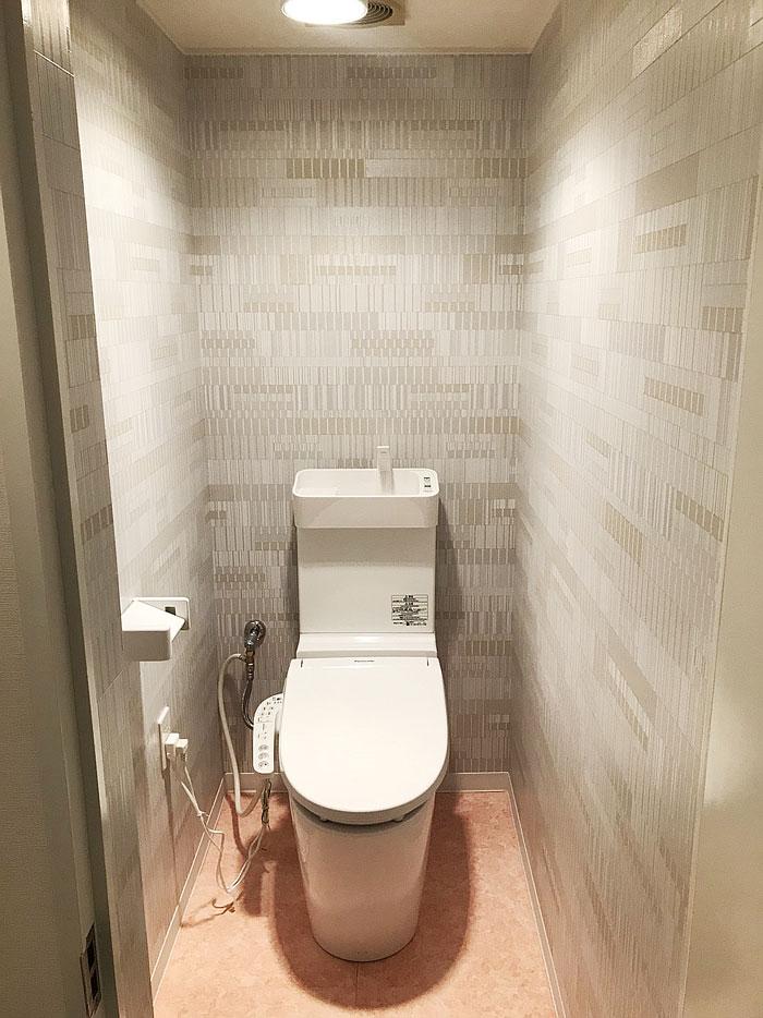 トイレ壁紙張替えアフター