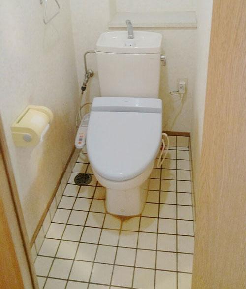 変身前トイレ