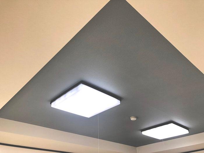天井張り替えAfter