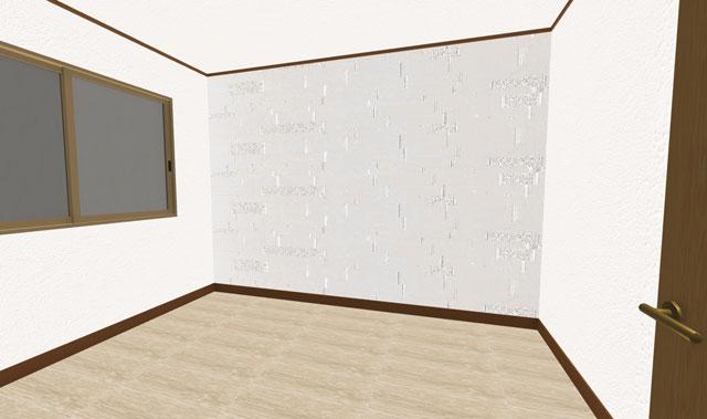 洋室の3Dイメージ
