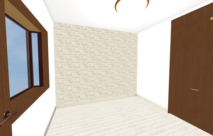 3Dパースイメージ洋室