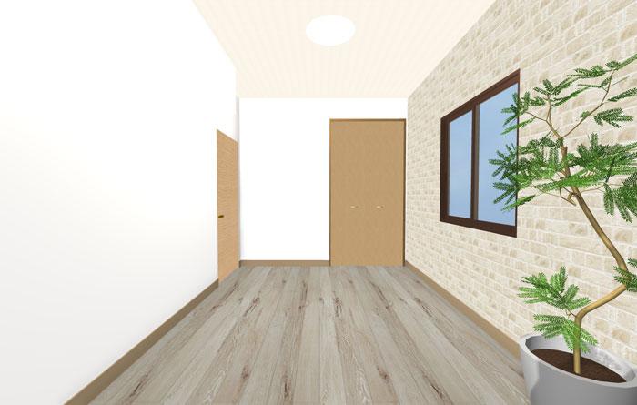 3Dパース寝室